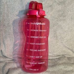 116oz Pink Water Bottle 7am-9pm